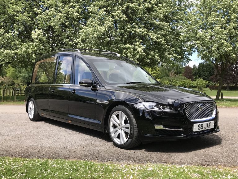 Jaguar Hearse Funeral Car