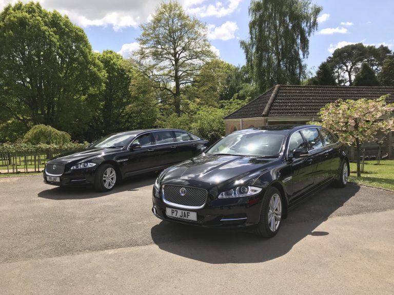 Jaguar Limo Funeral Car