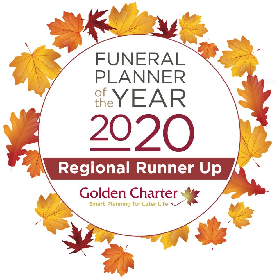 Funeral Planner of the Year 2020 Regional Runner up
